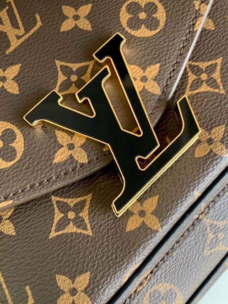 Túi Xách LV Monogram Canvas Passy Handbag