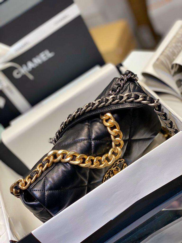 Túi Xách Chanel 19 Flap Bag - Đen