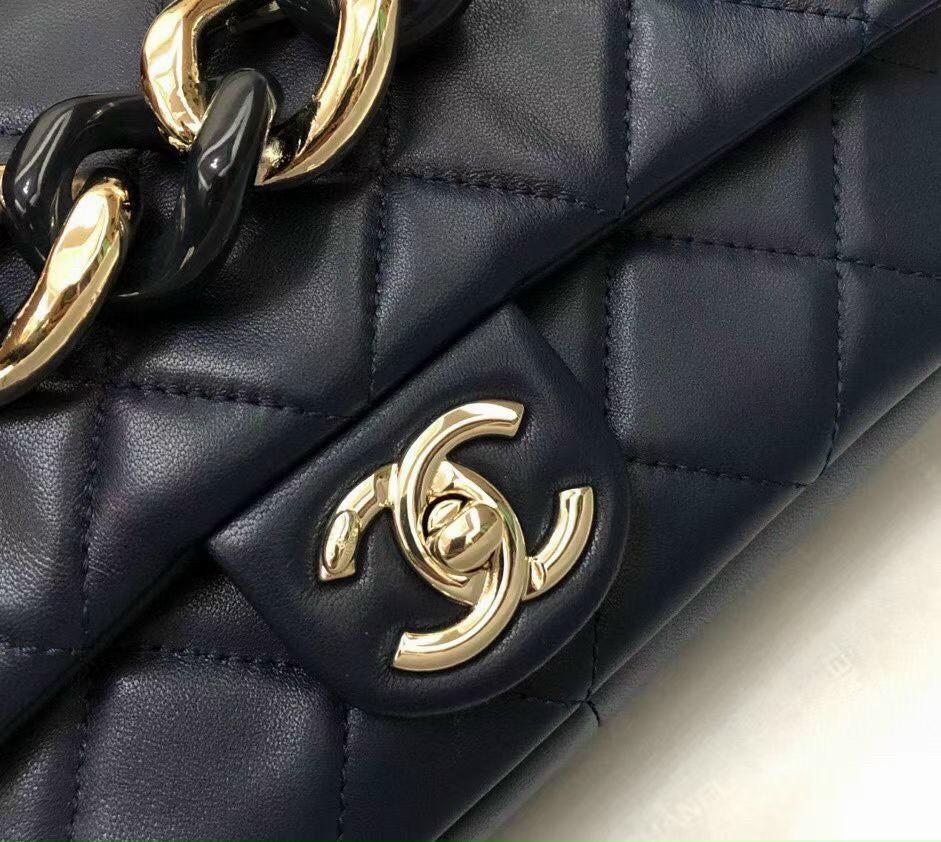 Túi Xách Chanel 19 Large Flap Bag - Đen