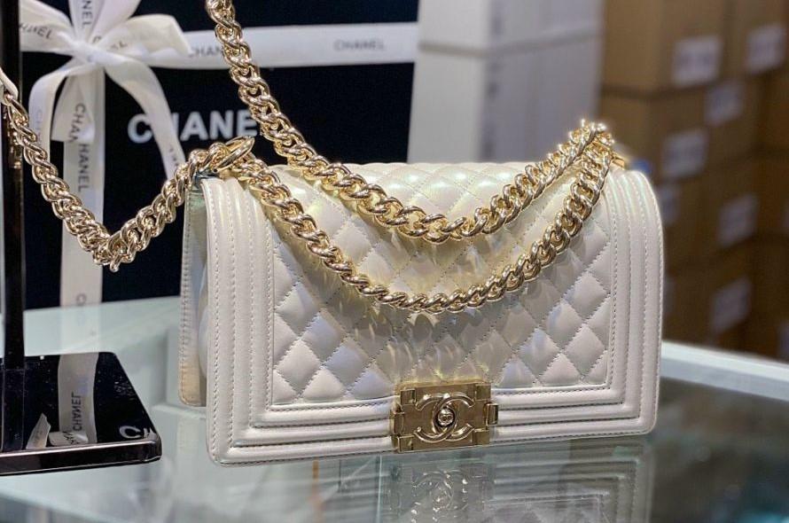 5 mẫu túi xách Chanel trắng đốn tim nàng ngay từ cái nhìn đầu tiên