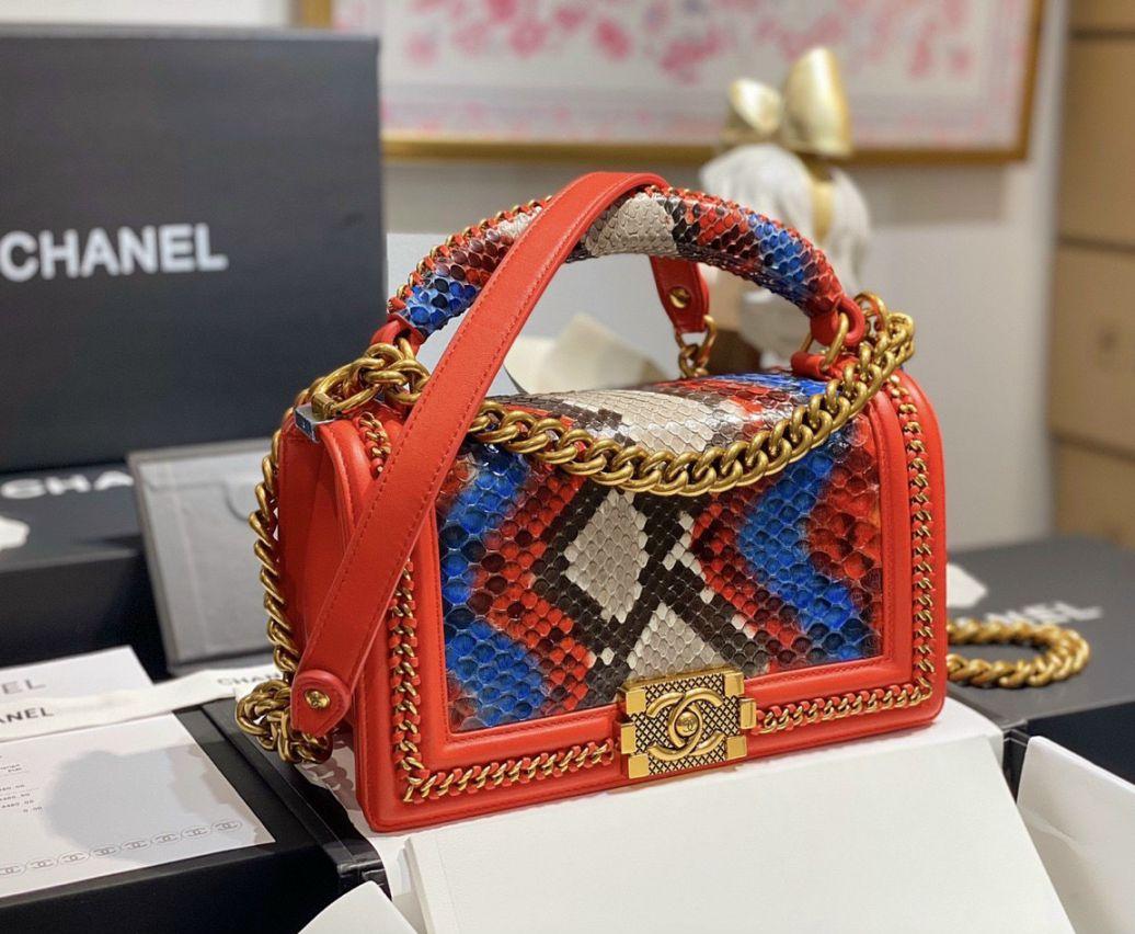 Những điều thú vị của chiếc túi xách Chanel Boy chính hãng
