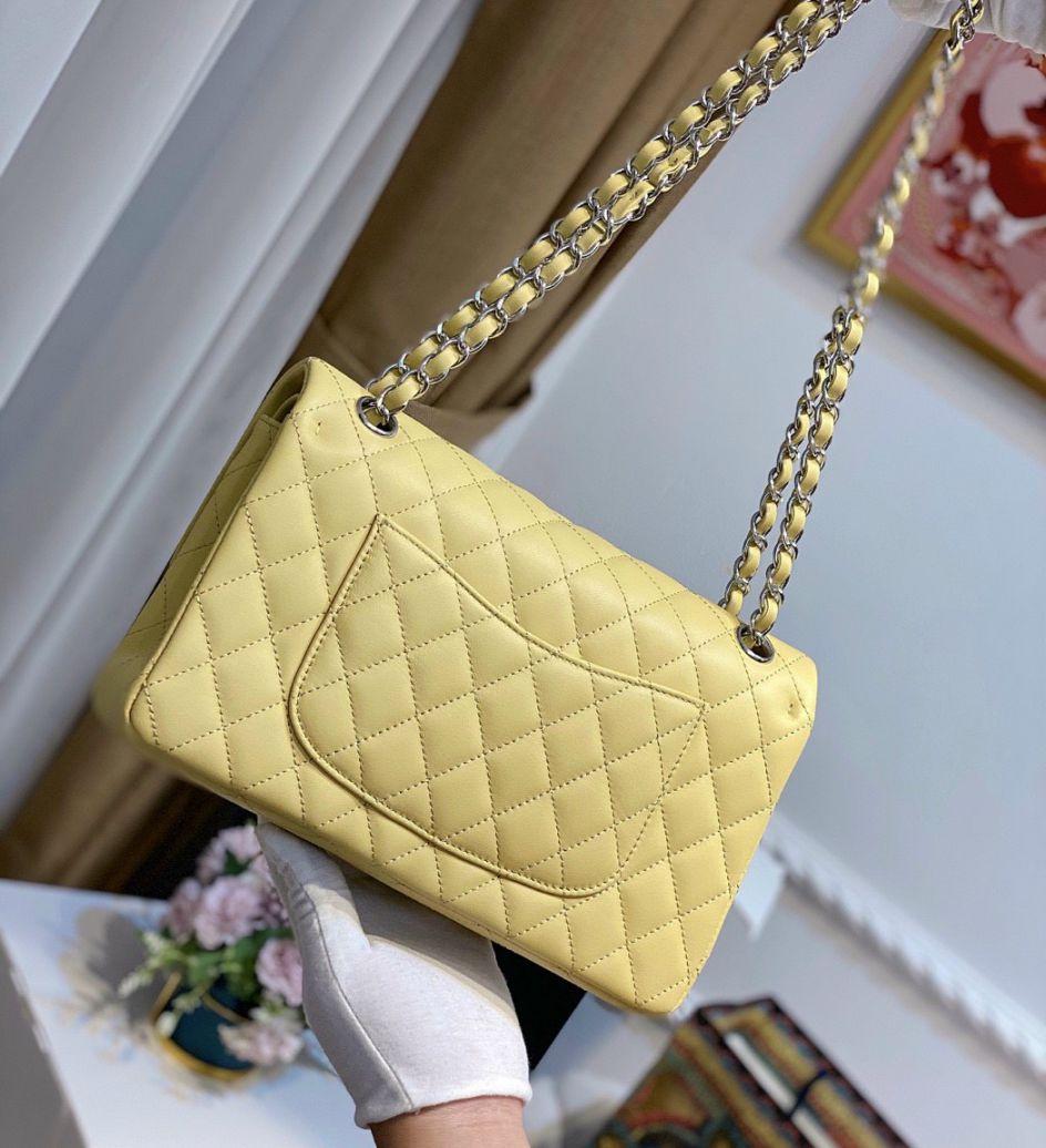 Túi Xách Chanel Classic – Vàng Nhũ