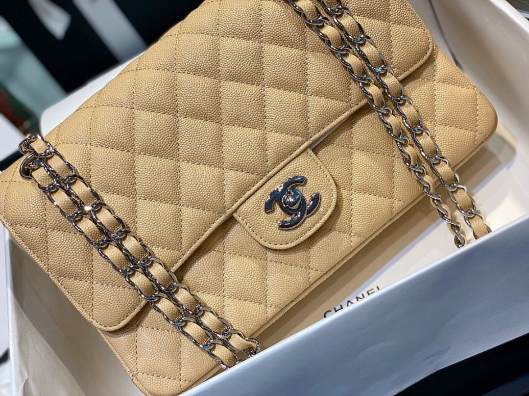 Túi Xách Chanel Classic - Vàng
