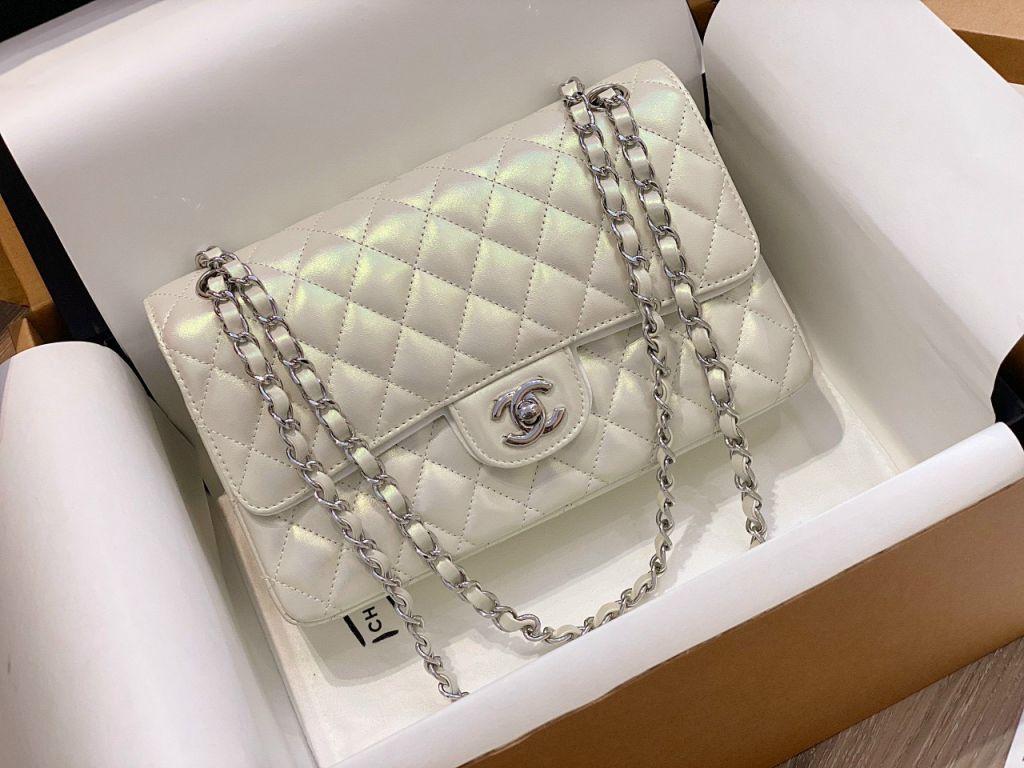 Túi Xách Chanel Classic Ngọc Trai