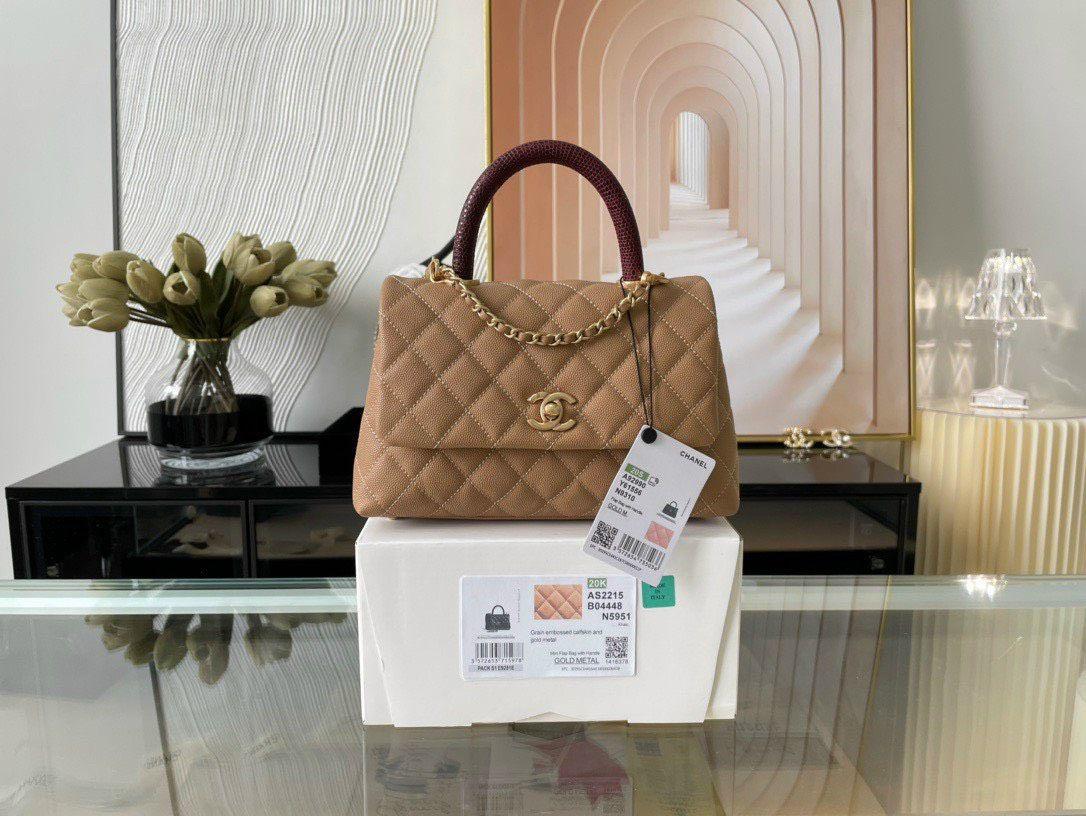 Túi xách Chanel Coco Handle Bag – Cơn sốt của giới thời trang