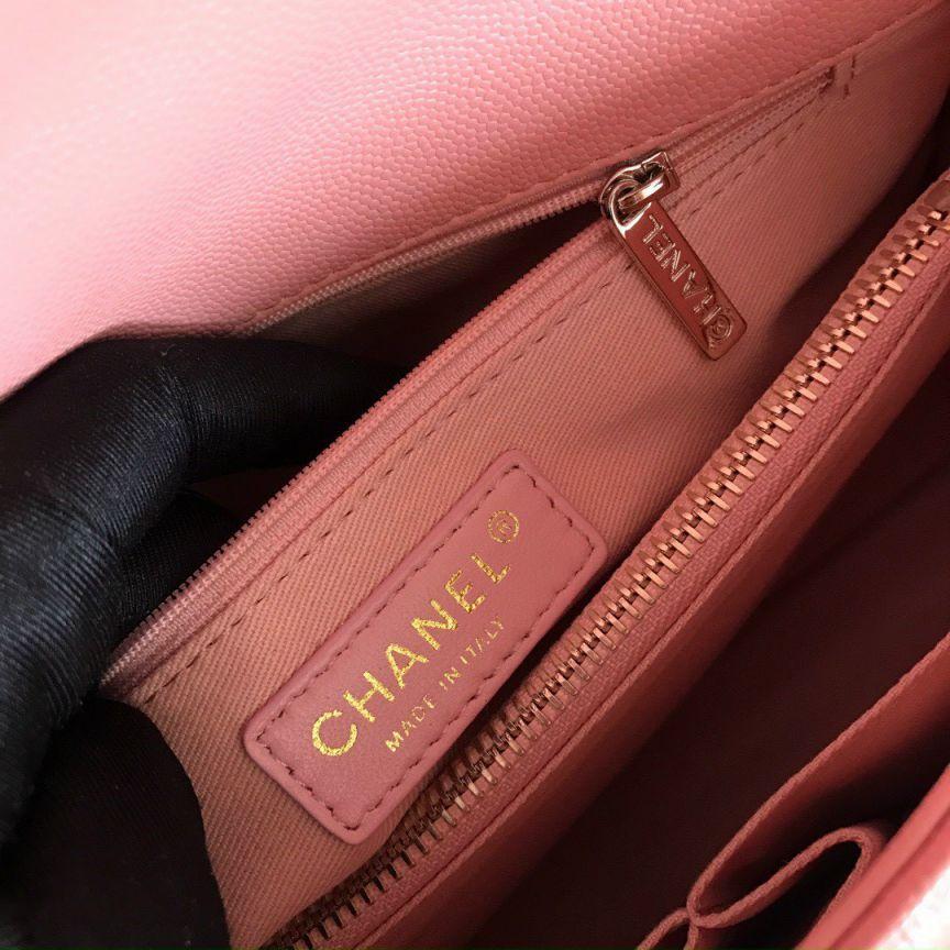 Túi Xách Chanel Coco – Hồng Cam