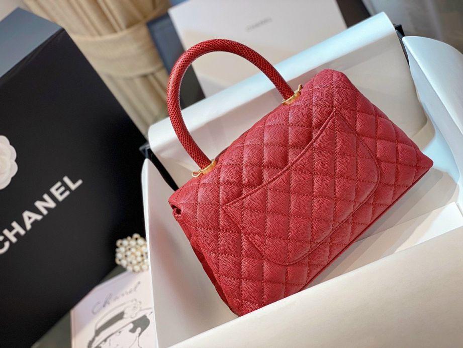 Túi Xách Chanel Coco Mini – Đỏ Tươi