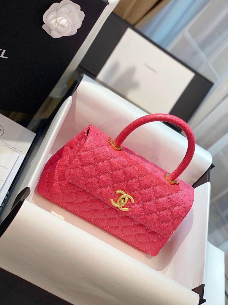 Túi Xách Chanel Coco Mini – Hồng