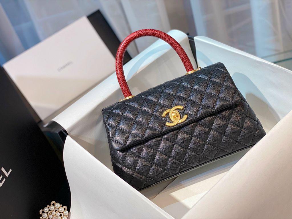 Túi Xách Chanel Coco Mini – Đen
