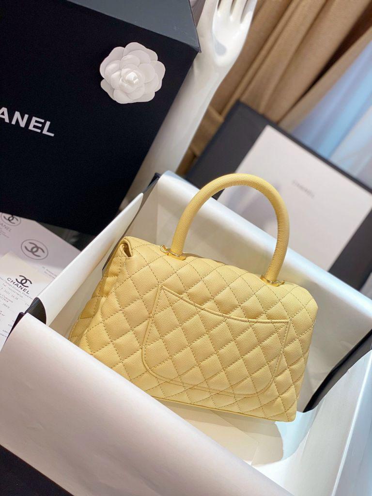 Túi Xách Chanel Coco Mini – Vàng Nhạt