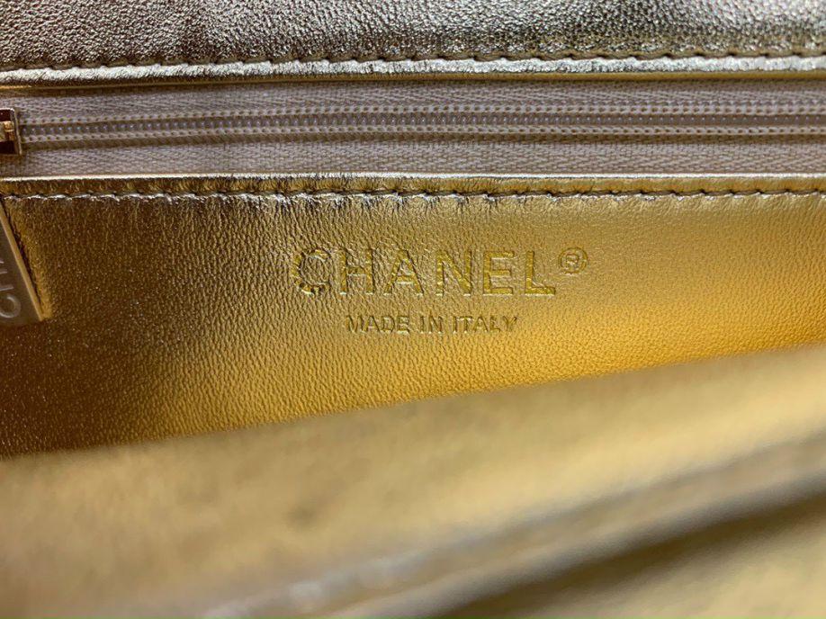 Chanel Enamel CC Flap Bag – Phối Màu