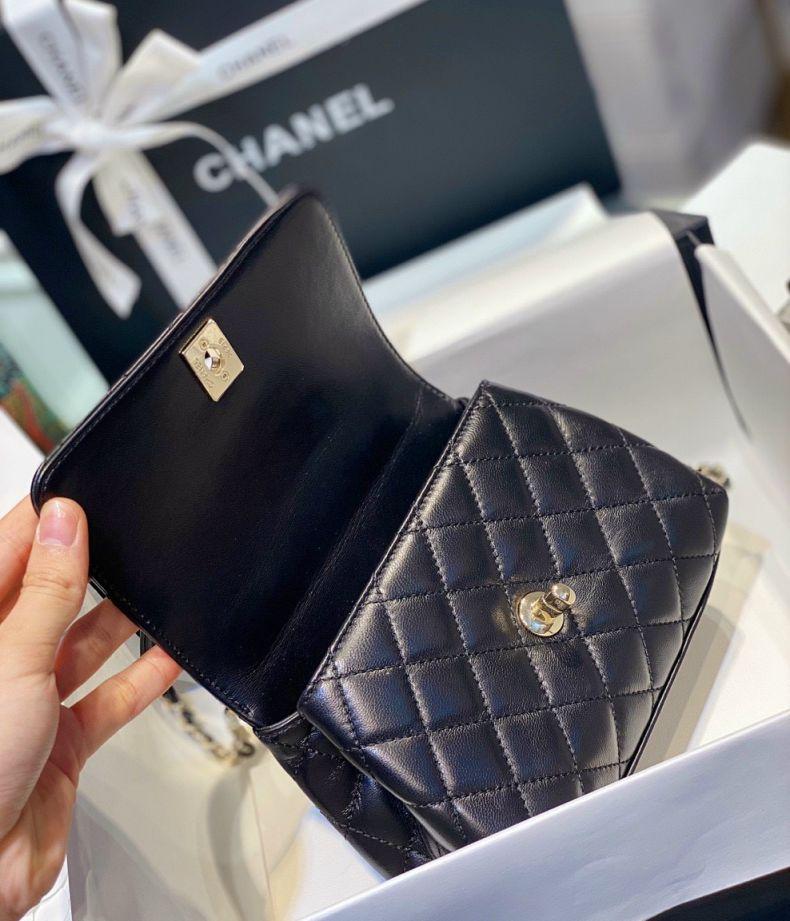 Túi Xách Chanel Handle Mini