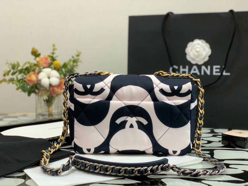 Túi Xách Chanel 19 CC Fabric Bag