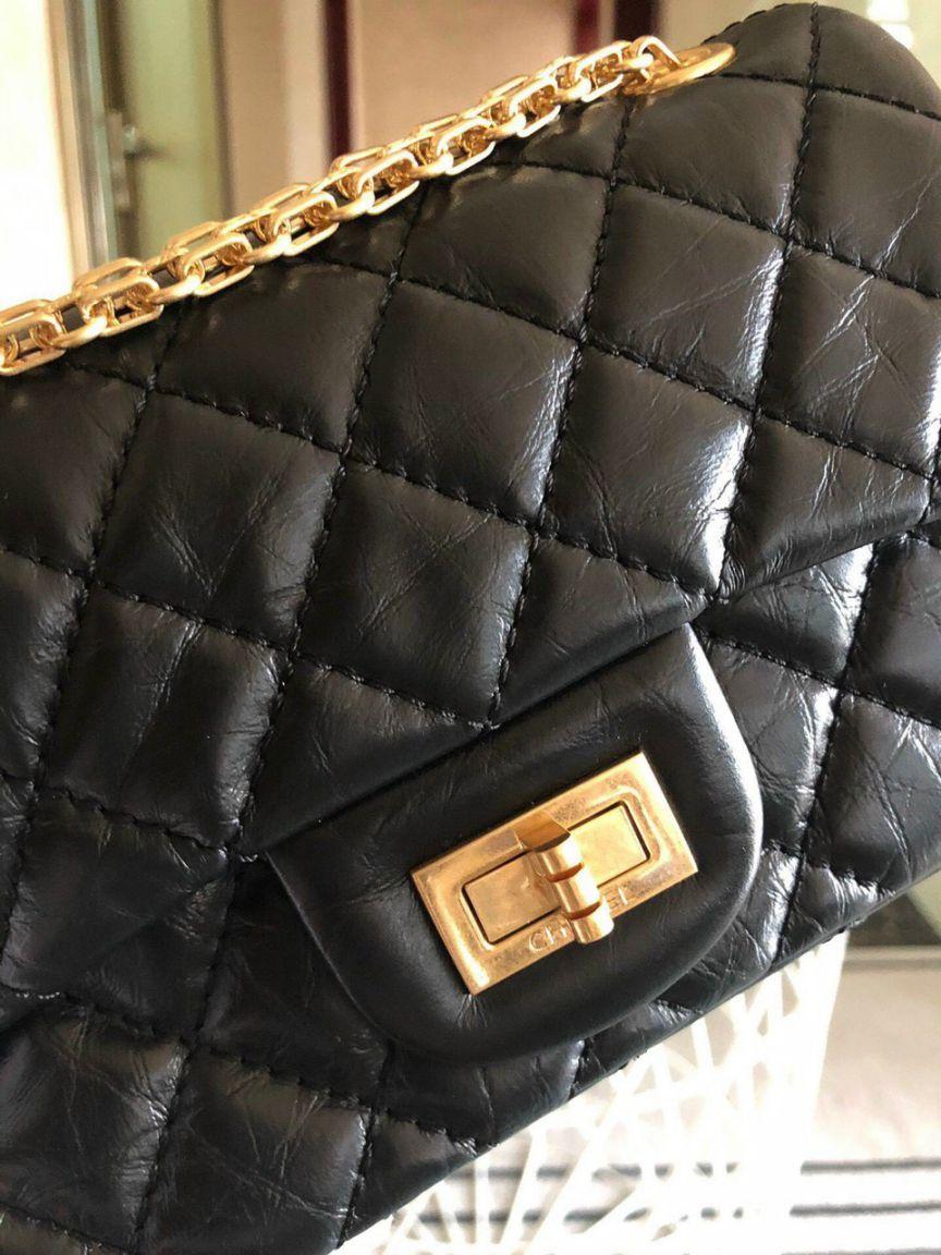 Túi Xách Chanel 2.55 – Đen
