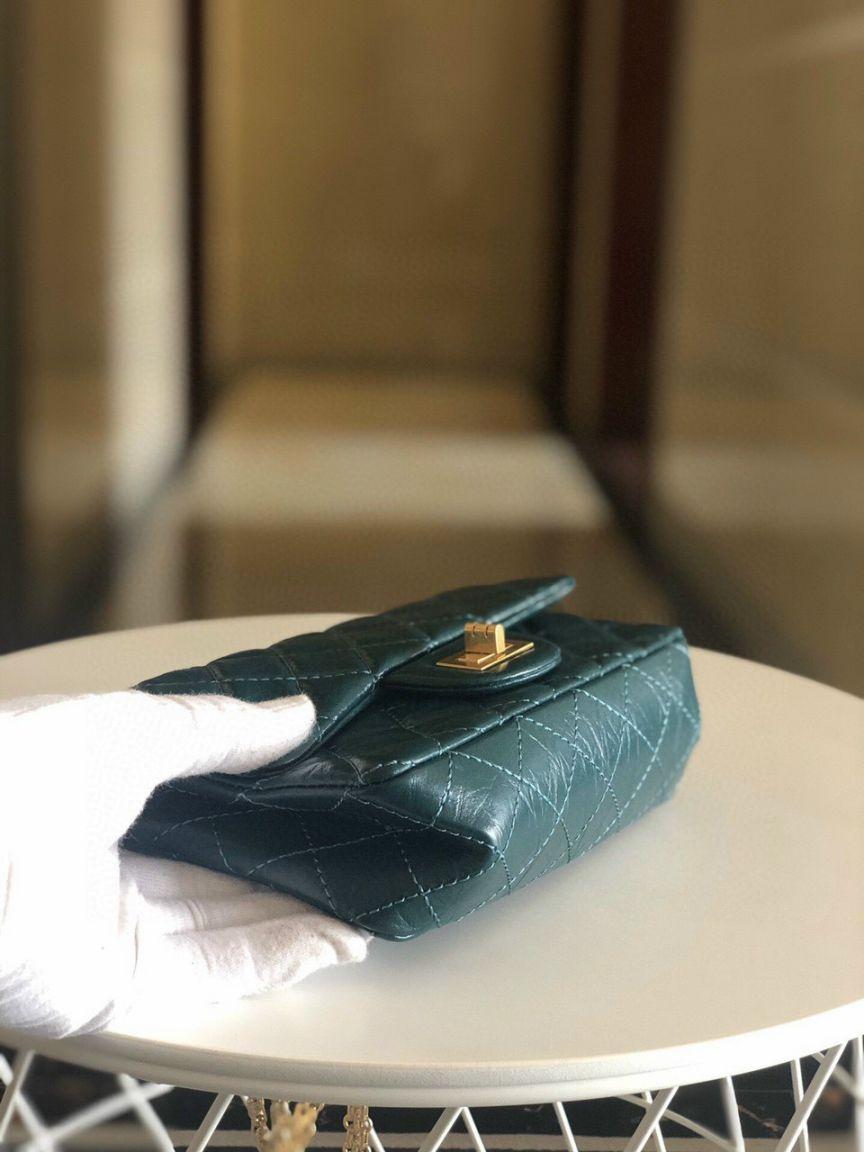 Túi Xách Chanel 2.55 – Xanh