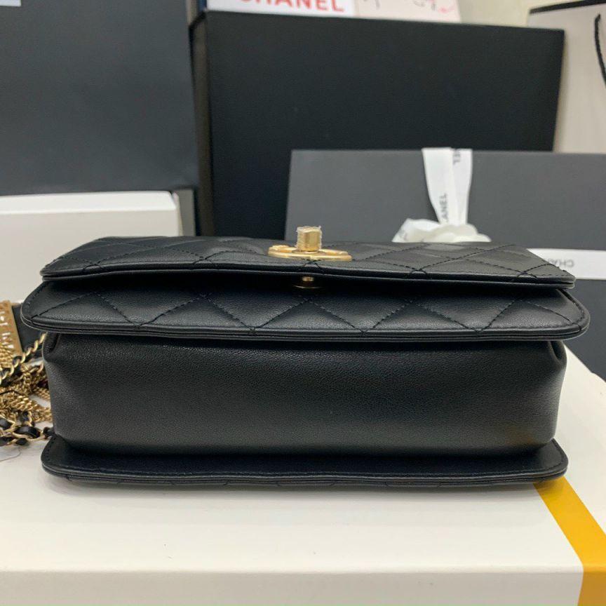 Chanel Jewel Woven Chain Bag – Đen
