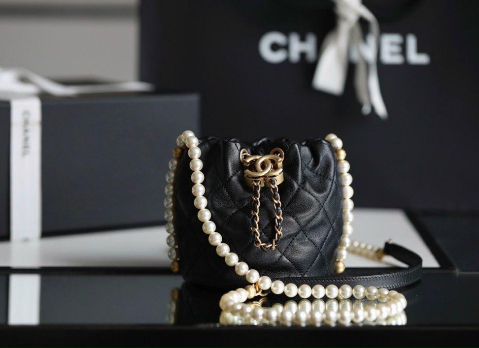 Chanel Mini Drawstring Bag