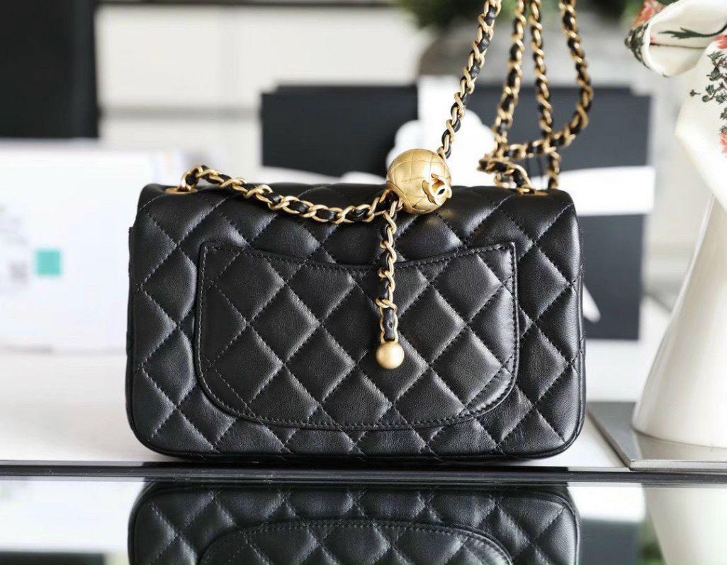 Túi Xách Chanel Pearl Crush – Đen