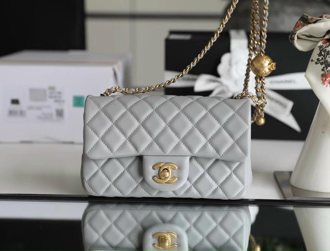 Túi Xách Chanel Pearl Crush – Ghi