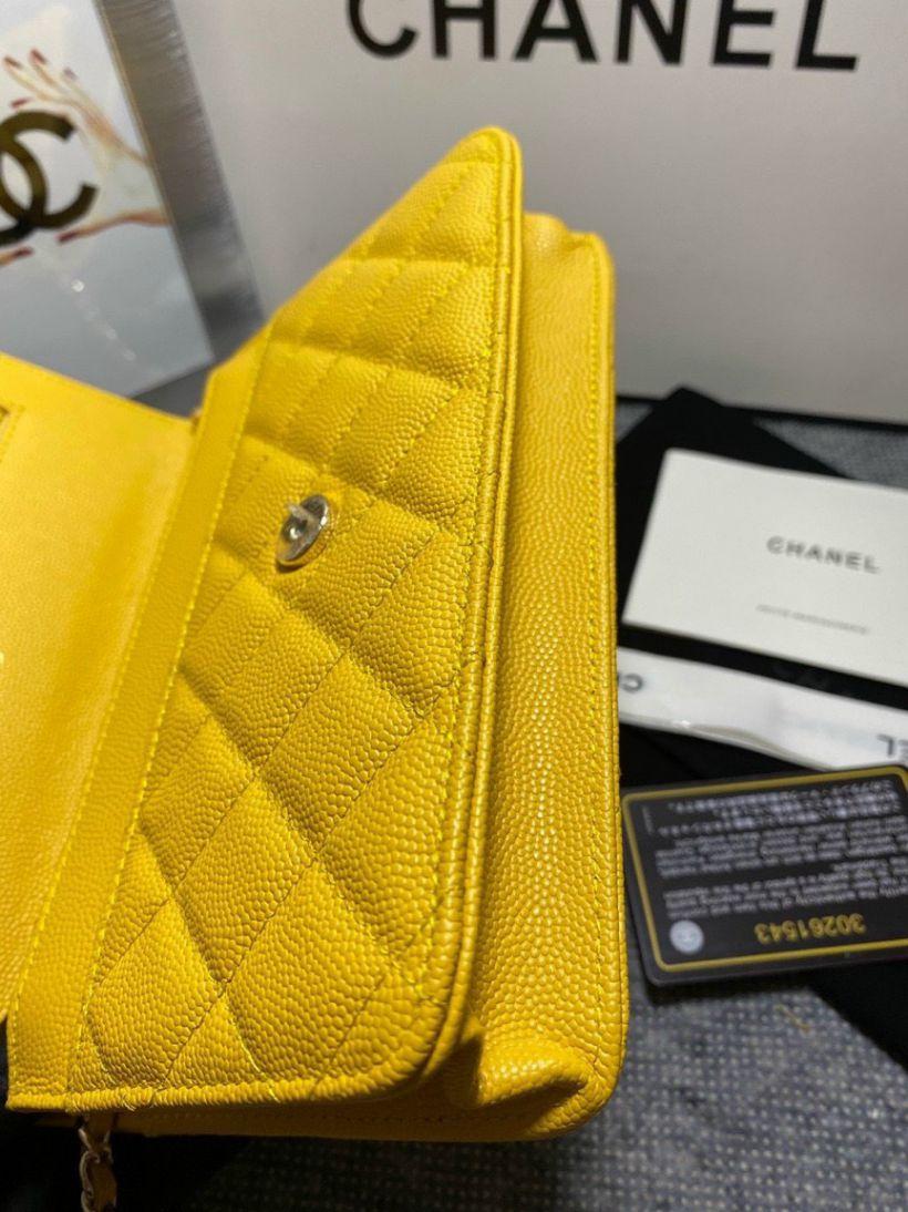 Túi Xách Chanel Woc C19 – Vàng