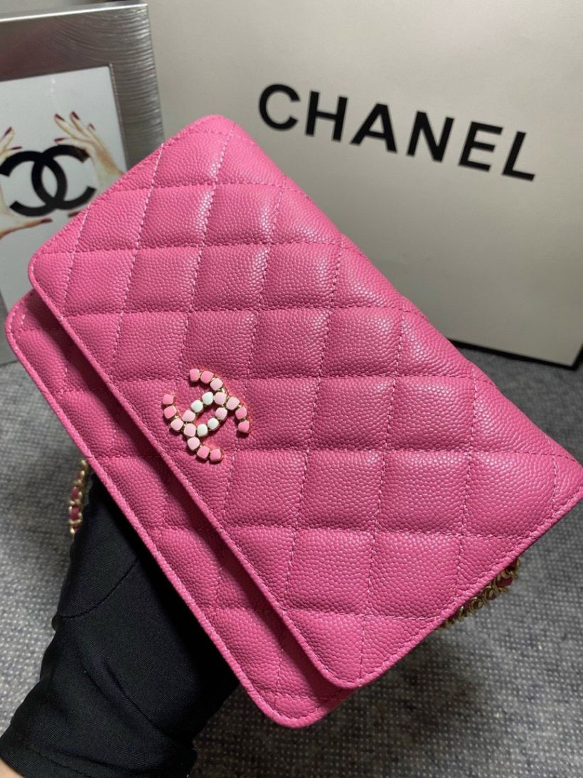 Túi Xách Chanel Woc C19 – Hồng