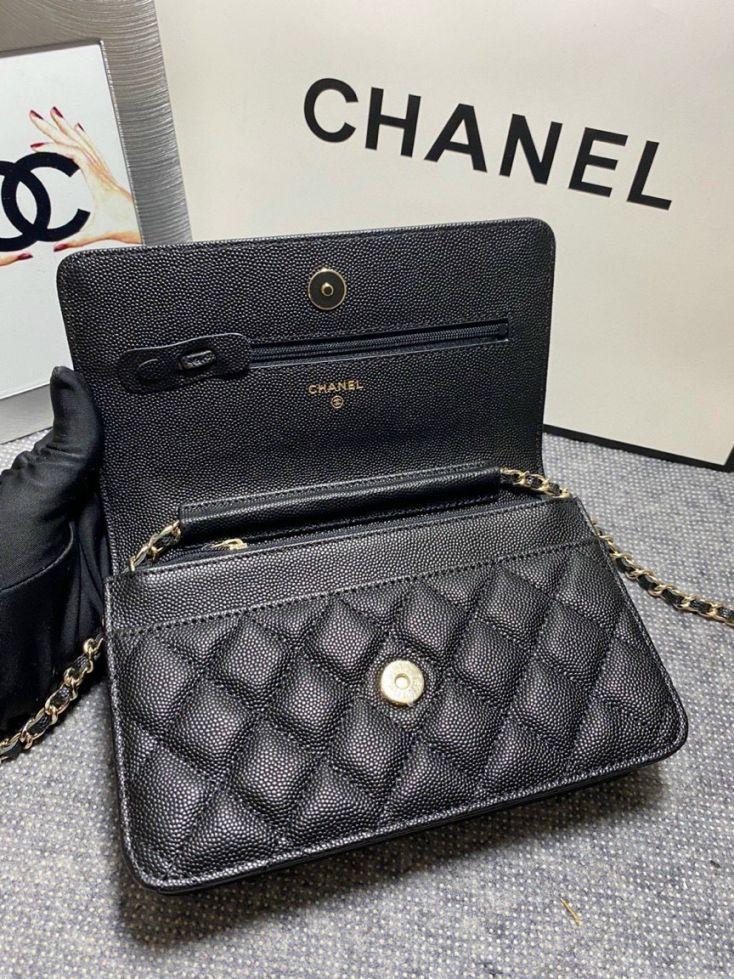 Túi Xách Chanel Woc C19 – Đen