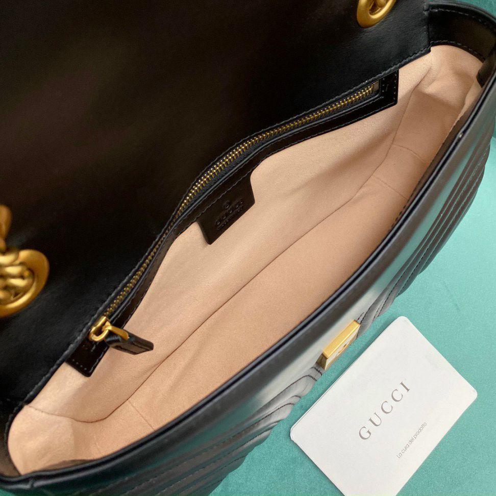 Gucci Marmont Matelasse Bag – Đen