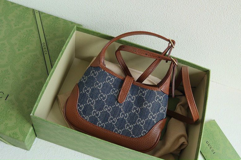 Túi Xách Gucci Denim Jackie Mini Bag