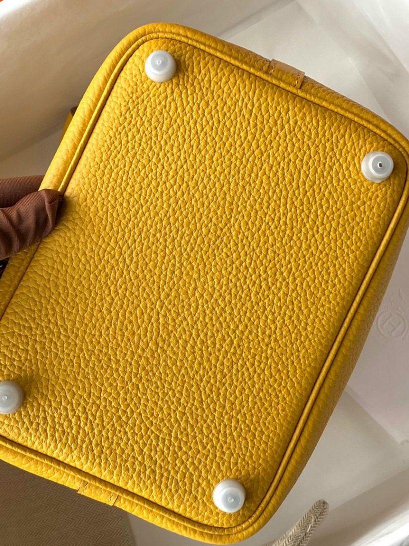 Túi Xách Hermes Bicotin – Vàng