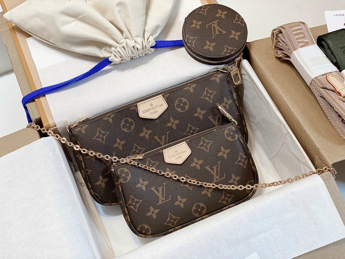 Review túi Louis Vuitton Multi Pochette