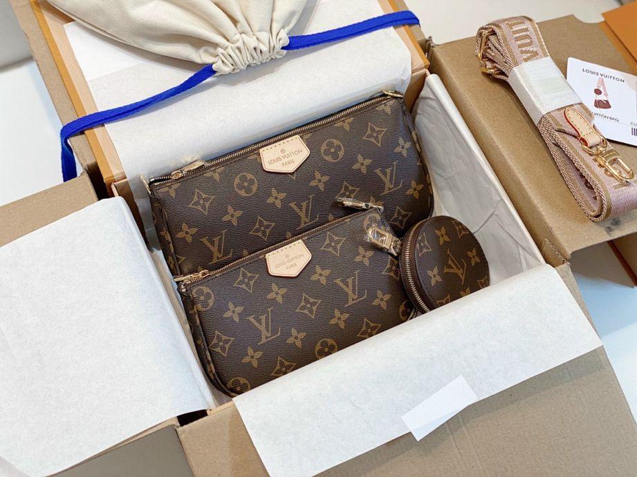 Multi Pochette Accessoires - Túi Louis Vuitton Monogram sang chảnh