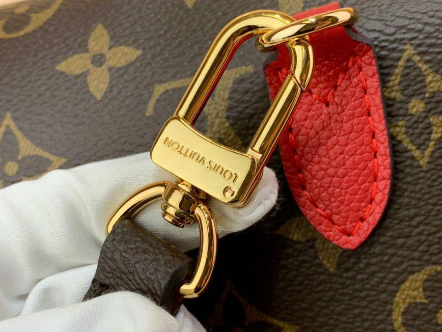 Túi Xách LV Marignan Messenger Bag - Đỏ