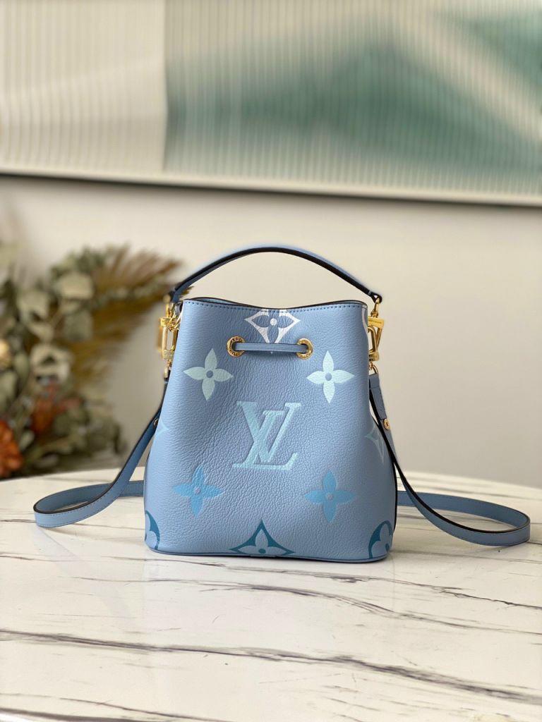LV NéoNoé BB Bucket Bag - Xanh