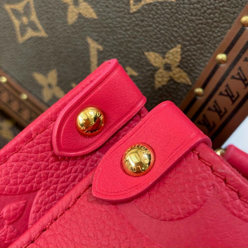 LV Onthego PM Tote Bag – Đỏ