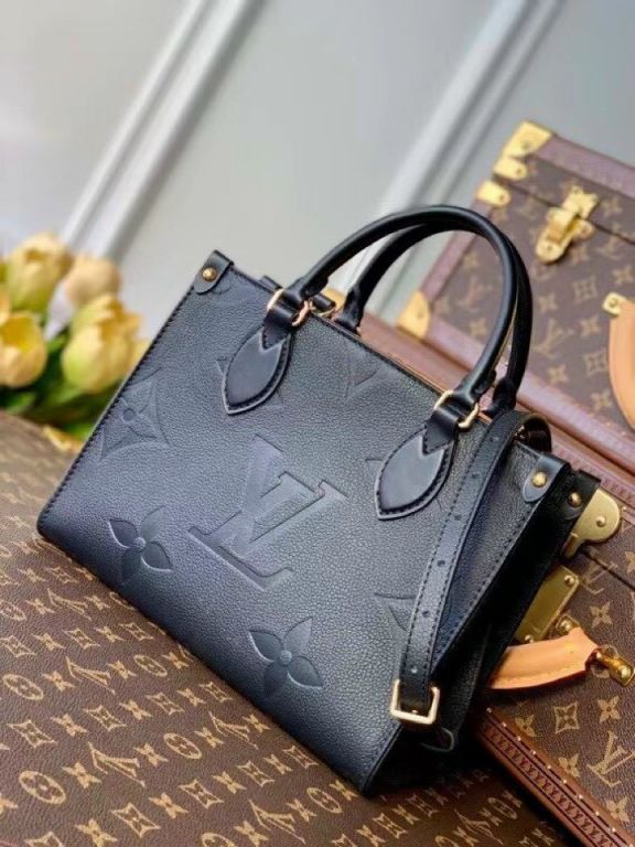 LV Onthego PM Tote Bag – Đen