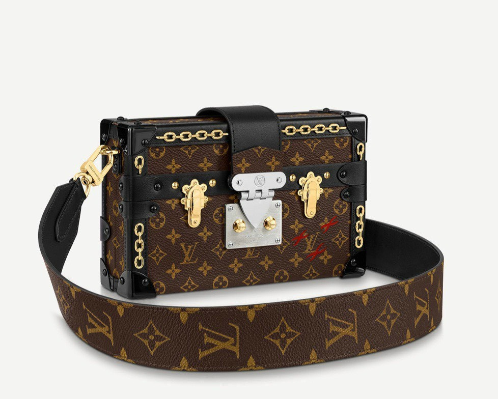 Mẫu túi Louis Vuitton hộp
