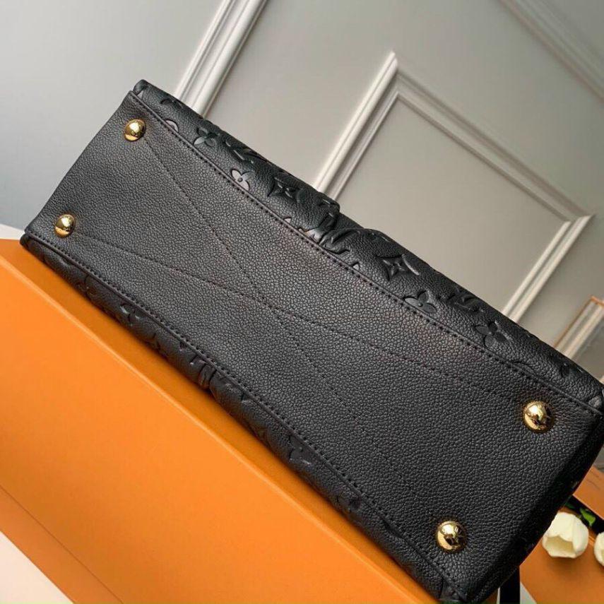 Túi Xách LV V Tote BB Handbag - Đen