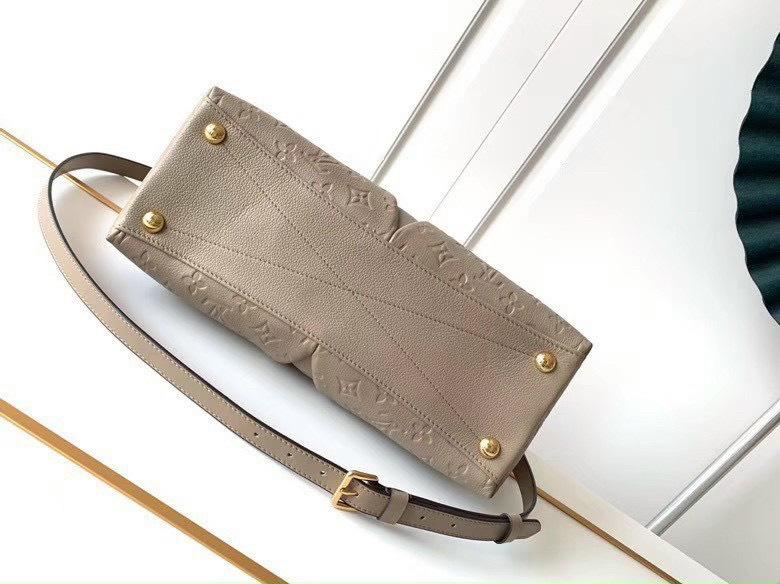 Túi Xách LV V Tote BB Handbag - Nude