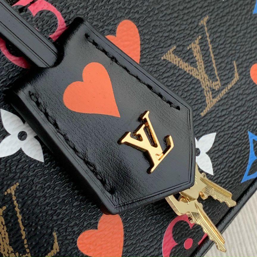 Túi Xách LV Game On Vanity PM Bag - Đen