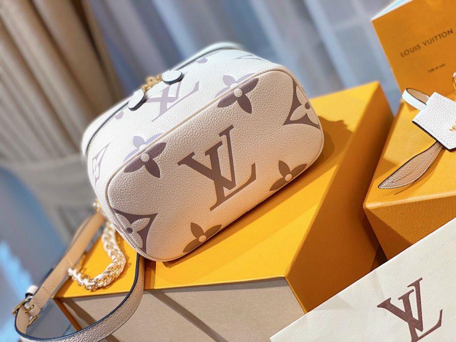 LV Vanity PM Handbag – Kem Sữa