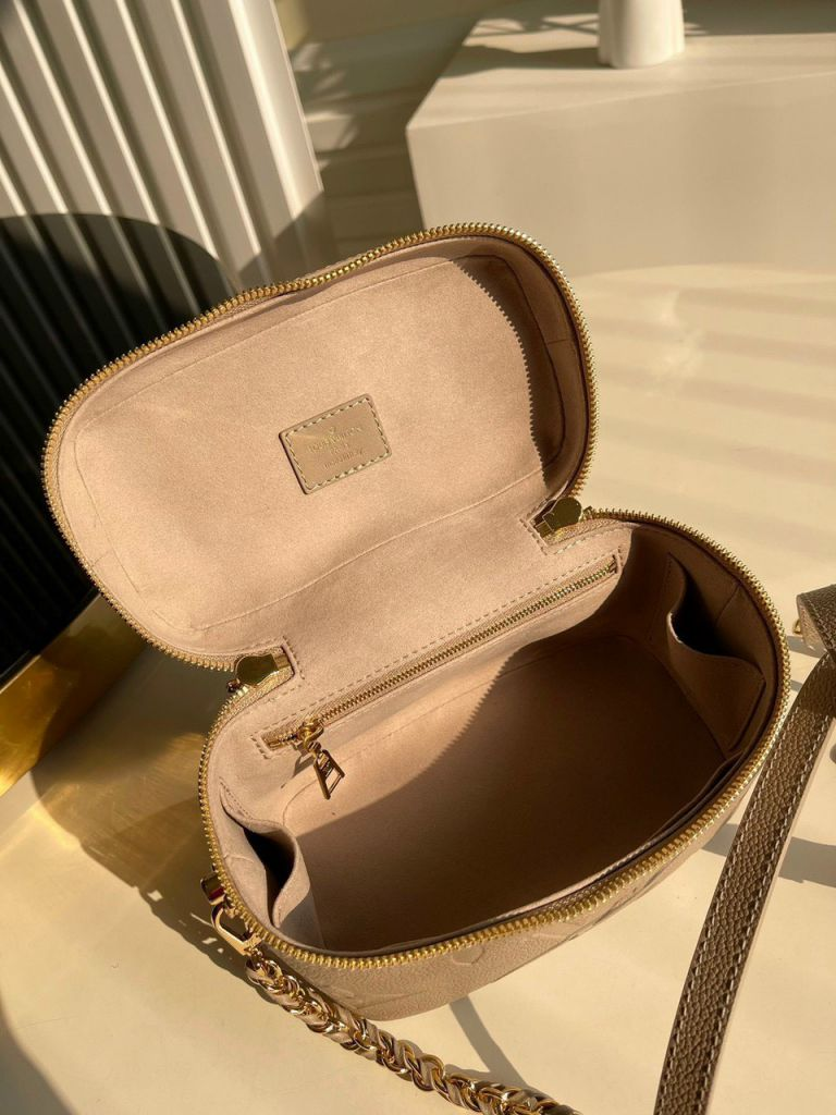 LV Vanity PM Handbag – Nude