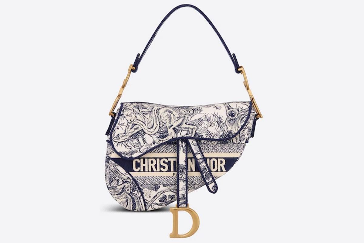 Ngắm nhìn sắc màu túi xách hàng hiệu Dior yên ngựa tuyệt đẹp