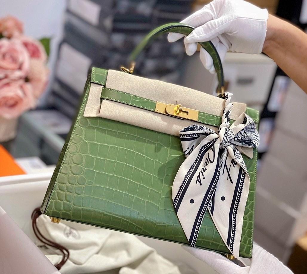 7 dòng túi Hermes chính hãng được nhiều quý cô yêu thích
