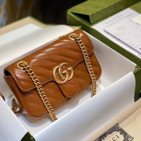 Gucci Marmont Matelasse Bag – Nâu Tây Size 22