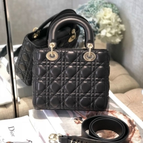 Túi Xách Christian Dior Lady - Đen