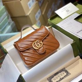 Túi Xách Gucci Marmont Top Handle Bag