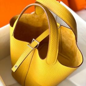 Túi Xách Hermes Picotin – Vàng